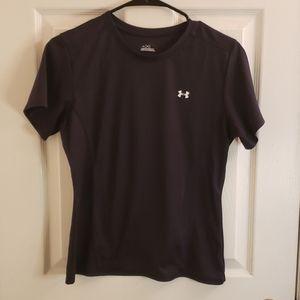 Under Armour Shirt Boy's Medium Black